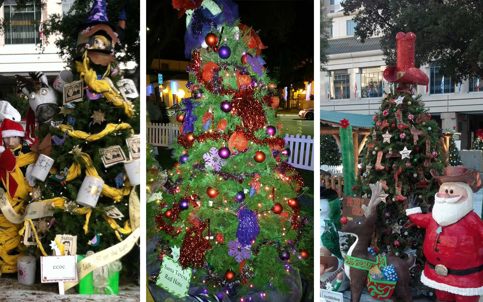 San Jose Lit a World Record-breaking 600 Christmas Trees