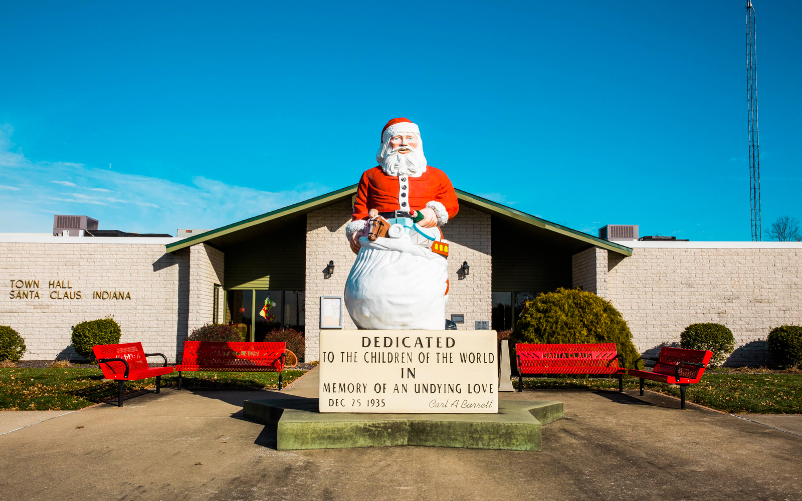 This Adorably Festive Town in Indiana Is Where All Your Letters to Santa Go