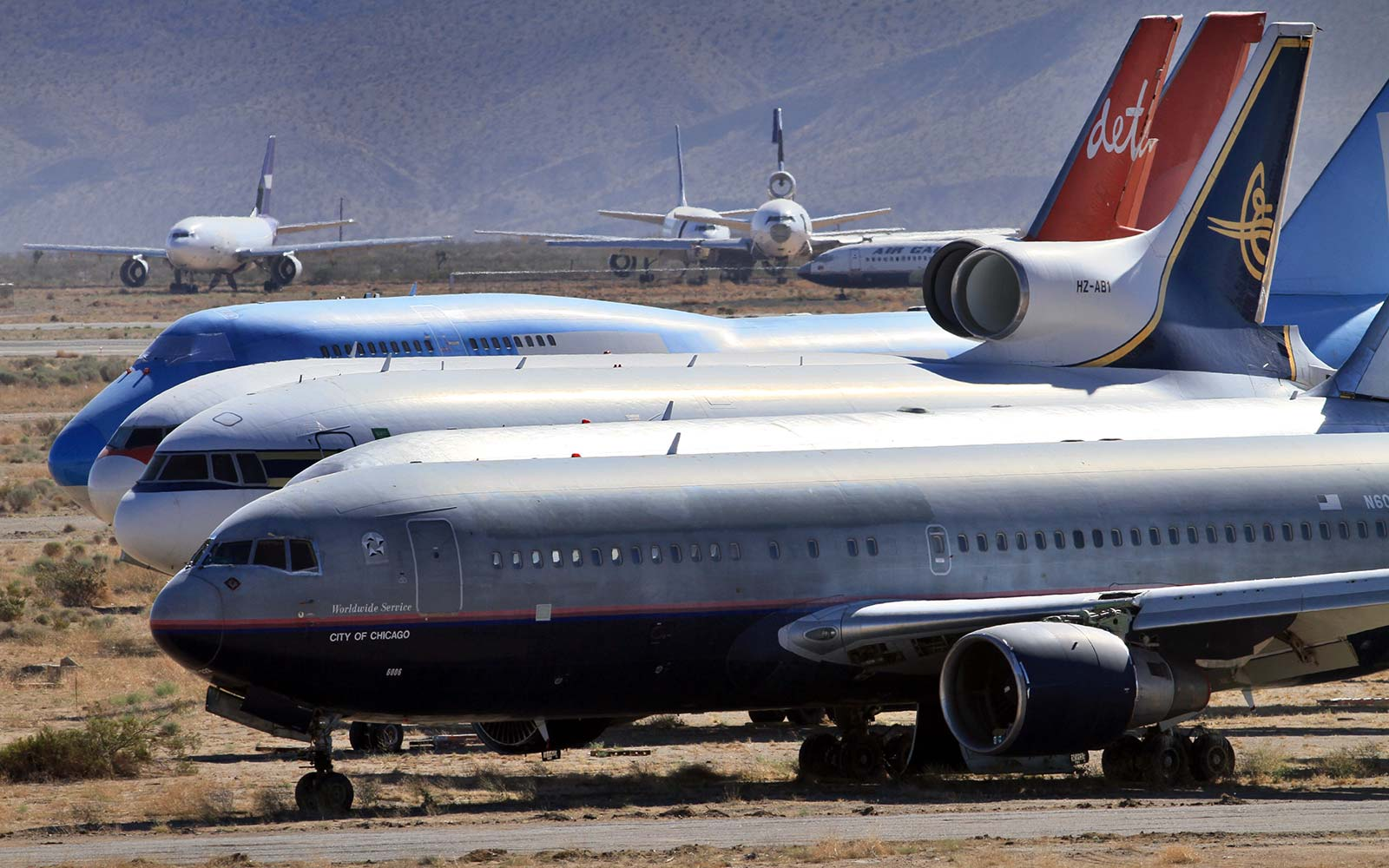This Is Where Airplanes Go When They Retire
