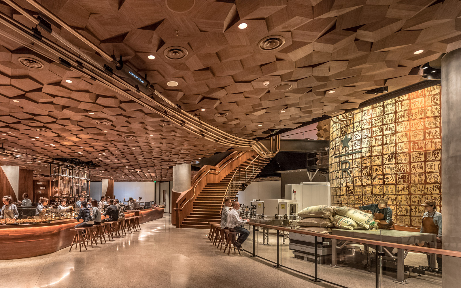 Starbucks Is Opening Their Largest Store Ever and It's Like a Willy Wonka Factory for Coffee