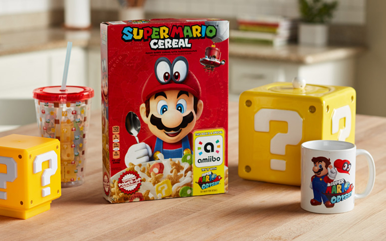 Super Mario Cereal Is Finally Here to Take Your Breakfast to the Next Level