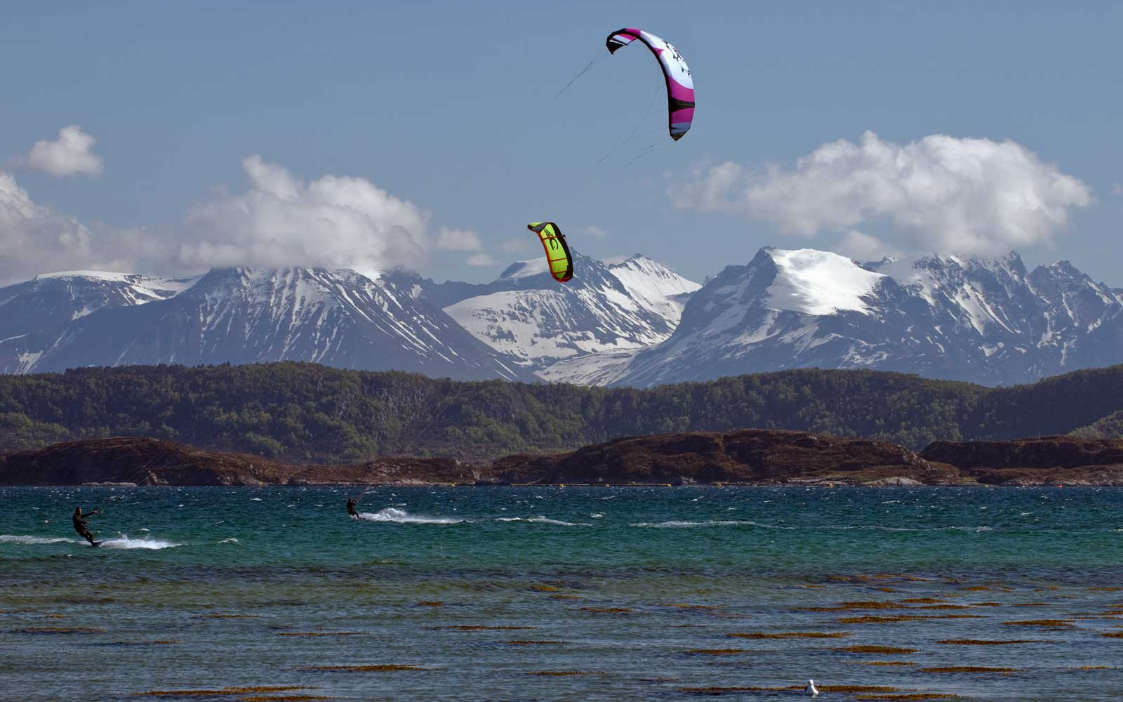 Ålesund Kitesurfing on the coast of Norway