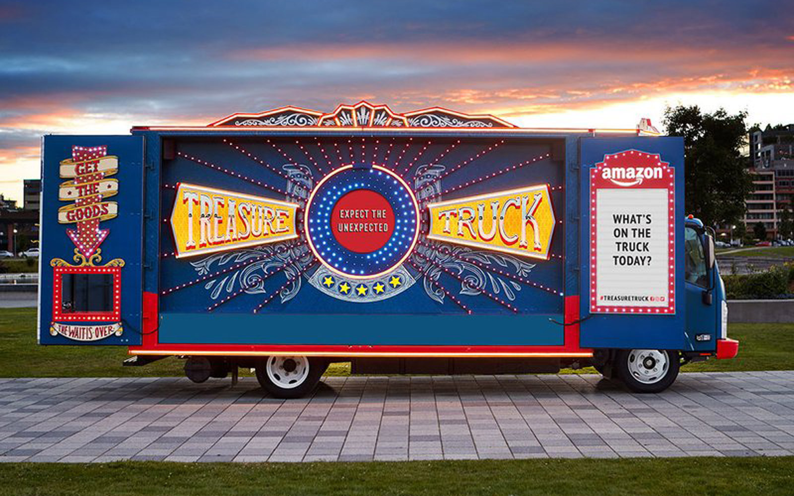 Amazon's 'Treasure Truck' Is Stopping at Whole Foods Locations Across the U.S.