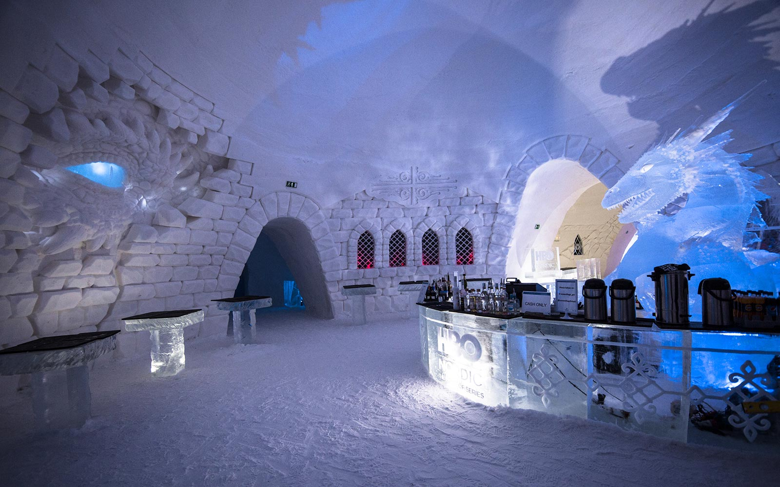This 'Game Of Thrones' Ice Hotel Will Make Anyone Feel Like They're in Winterfell