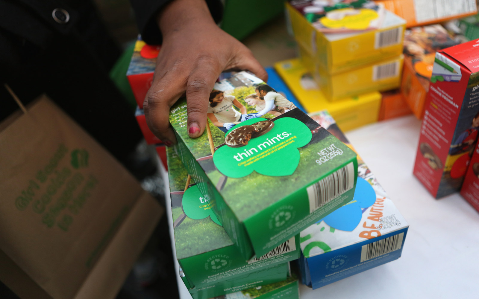 Where You Can Buy Girl Scout Cookies