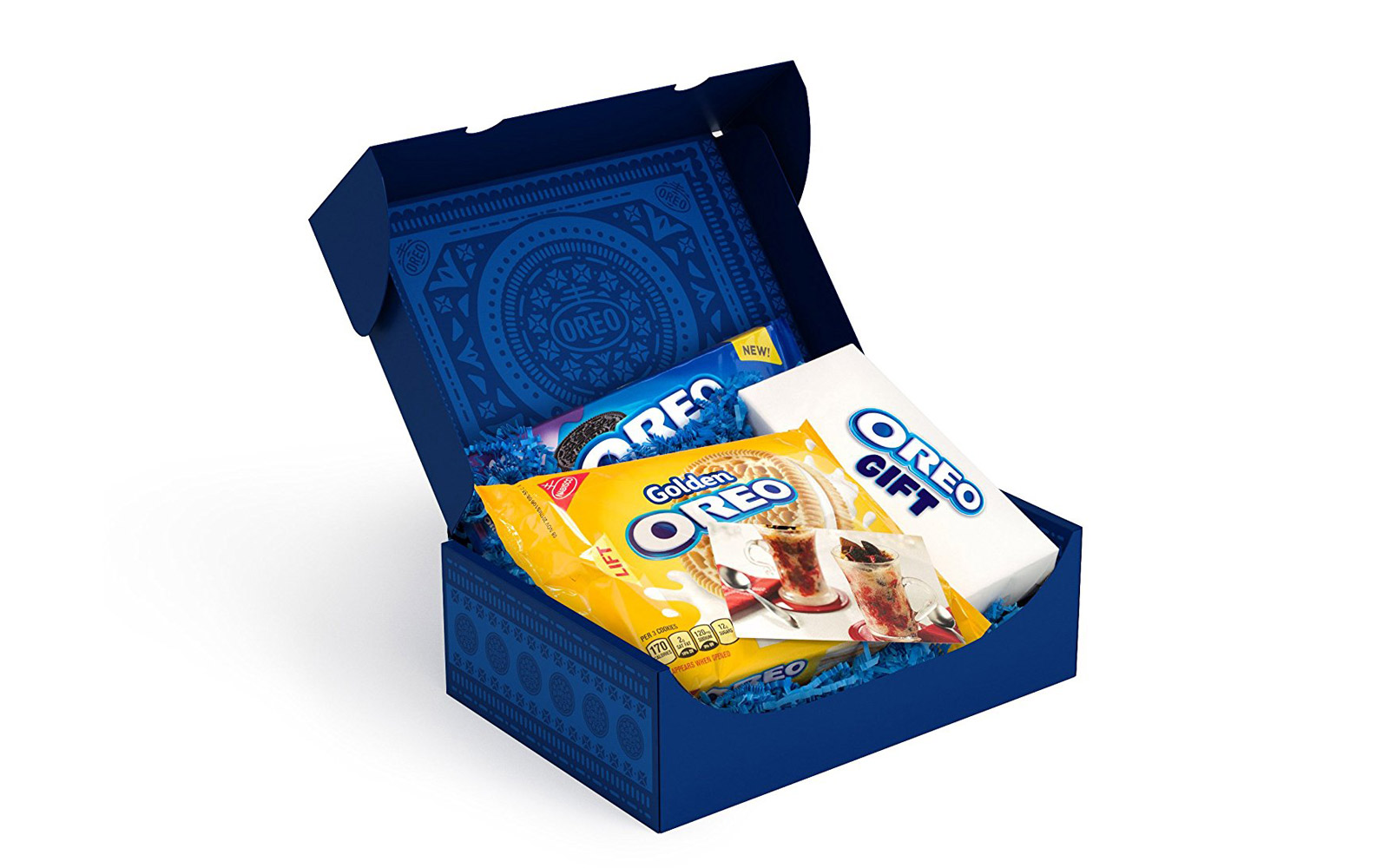 Inside the 'Oreo of the Month Gift' Box