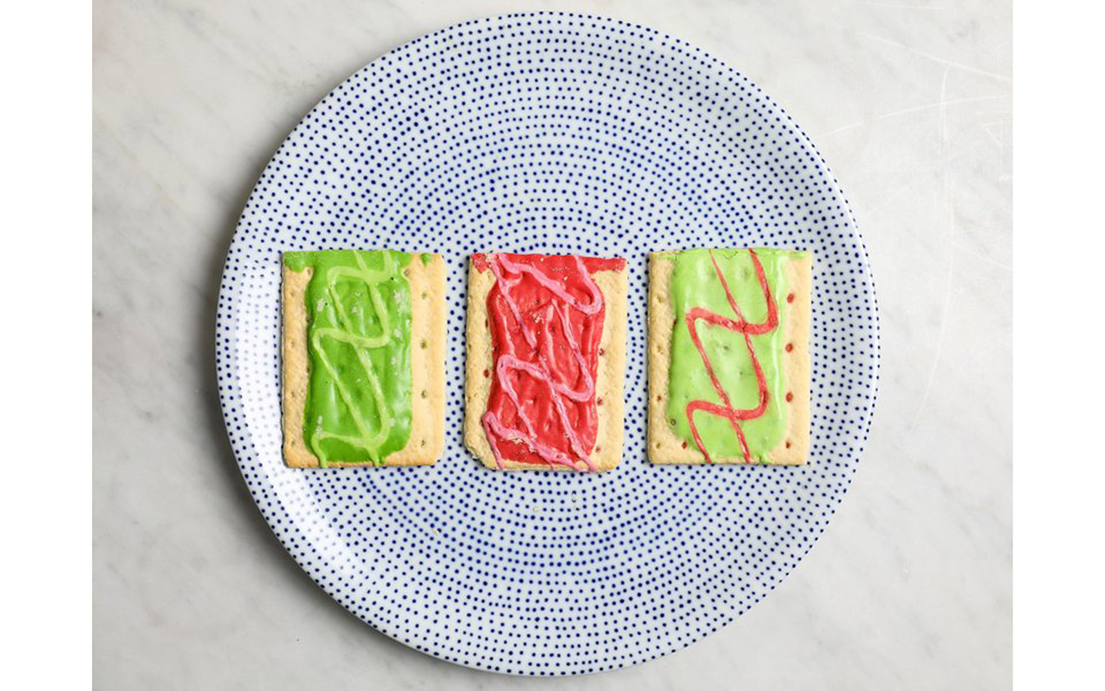 Jolly Rancher Green Apple, Jolly Rancher Cherry, and Jolly Rancher Watermelon Poptarts