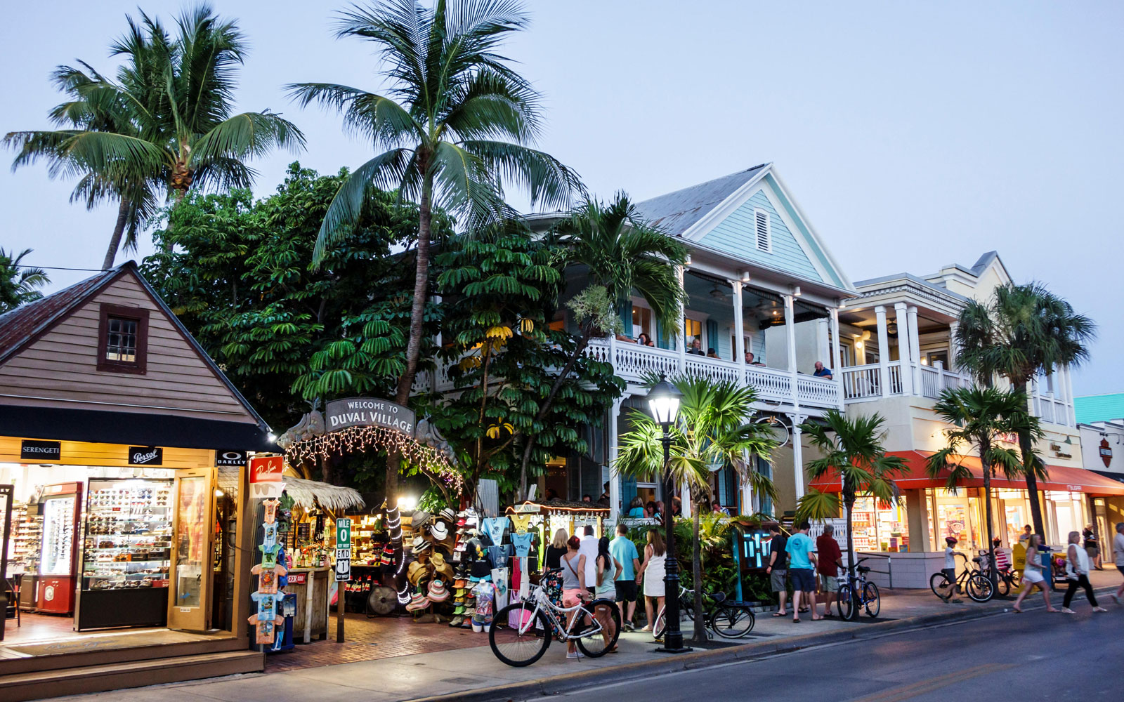 Key West at night