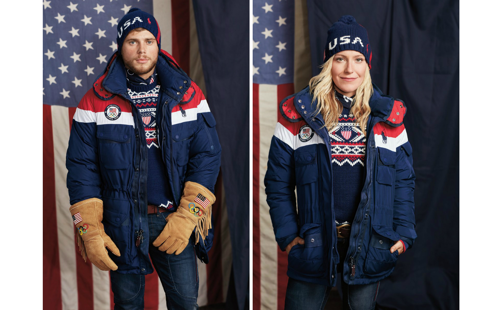 Ralph Lauren Made Self-heating Jackets for Team USA Olympic Athletes — and You Can Get One Too