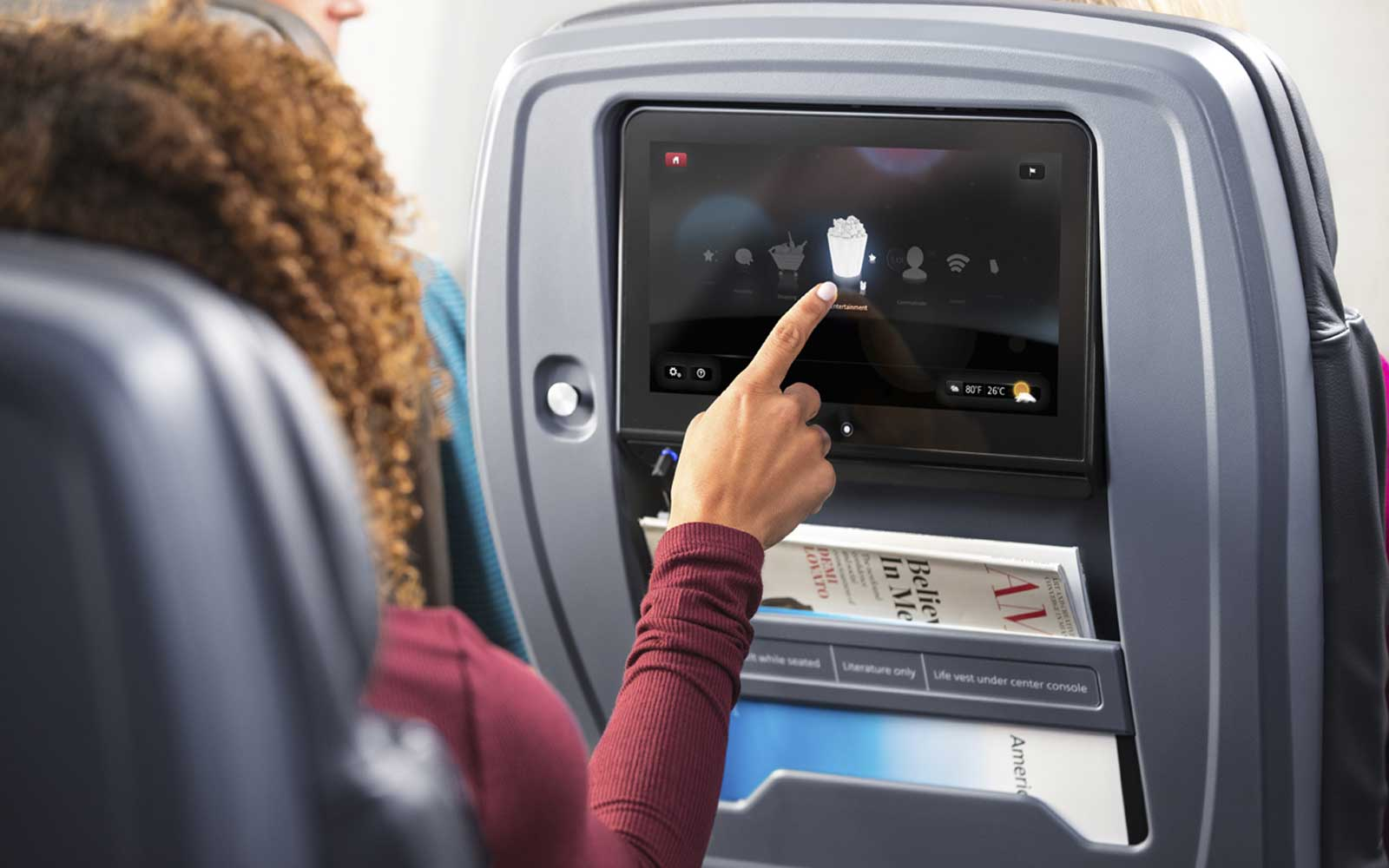 A Guide to Using Inflight Entertainment on American Airlines