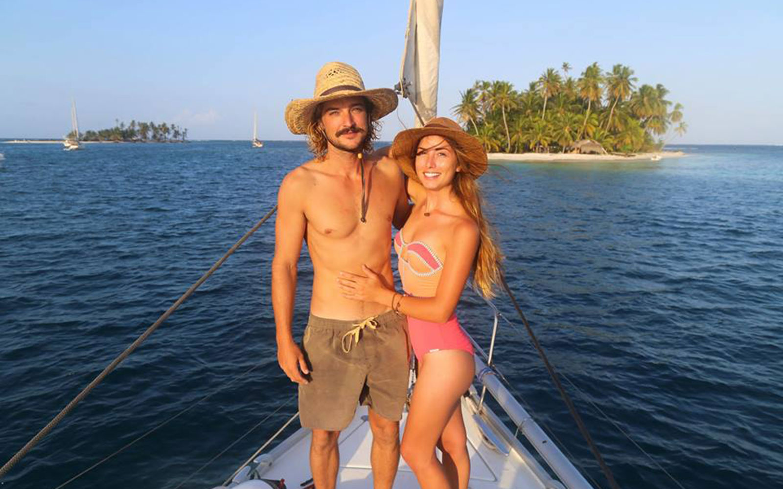 How This Couple Is Getting Paid to Sail Around the World