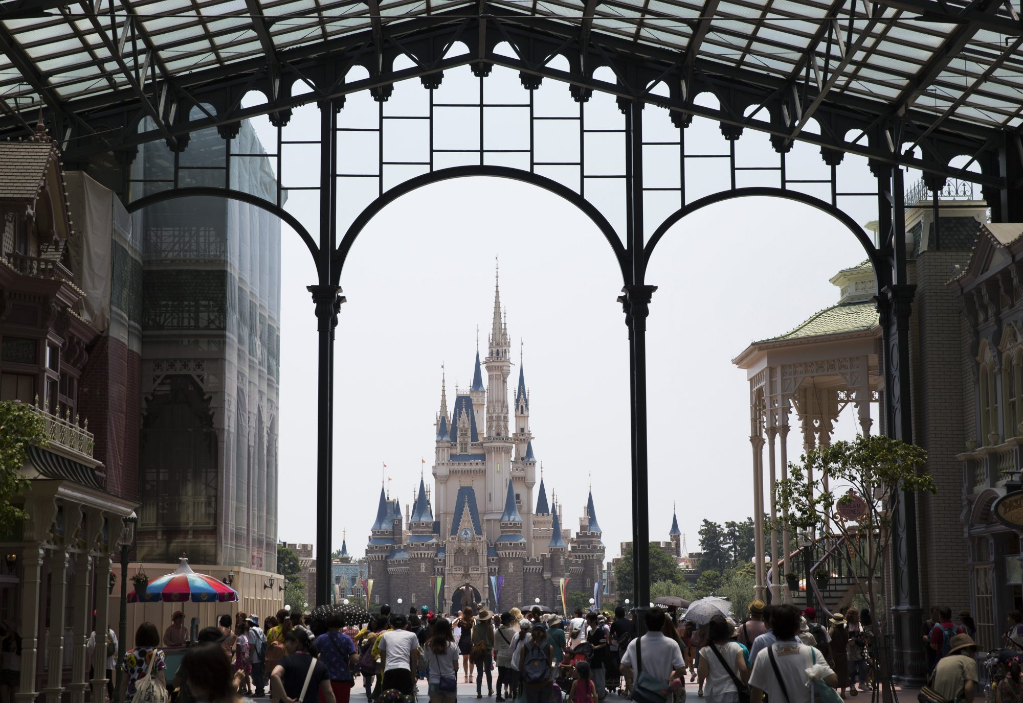 Tokyo Disneyland Looks Absolutely Magical Covered in Snow — See the Photos