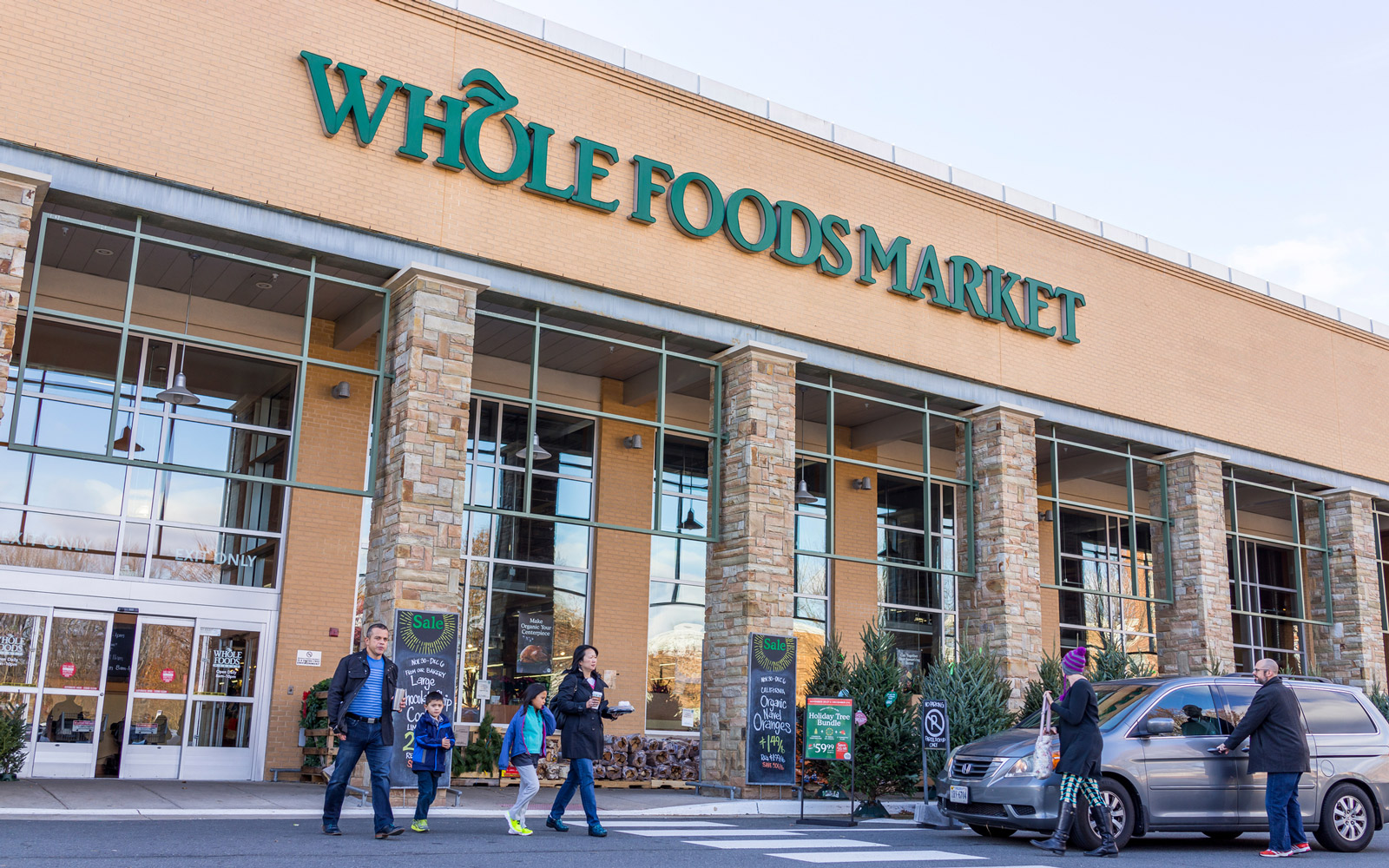 Whole Foods Market store facade