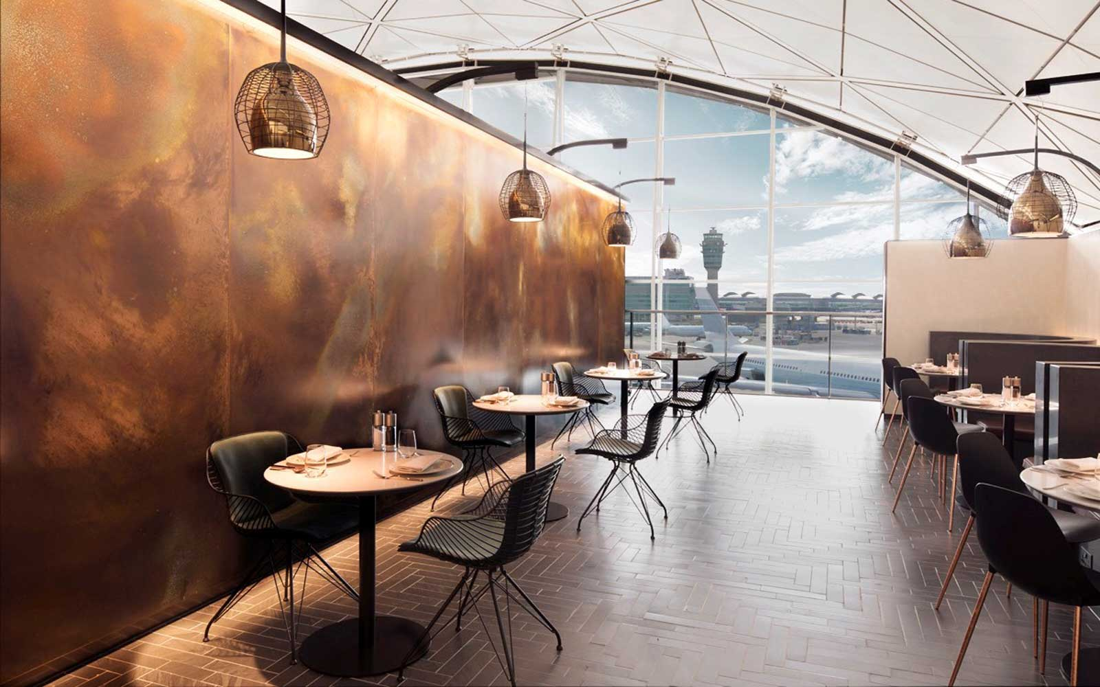American Express Centurion Lounge The Luxury Airport