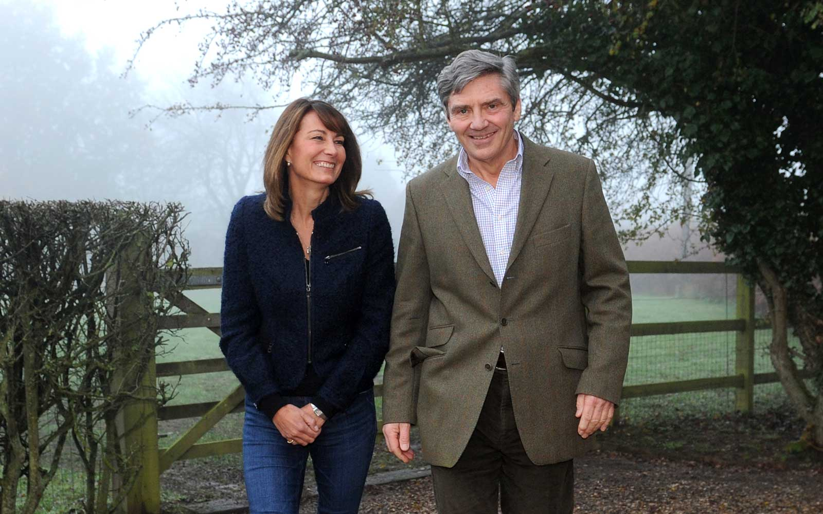 Michael and Carole Middleton, parents of Kate Middleton, Catherine Duchess of Cambridge