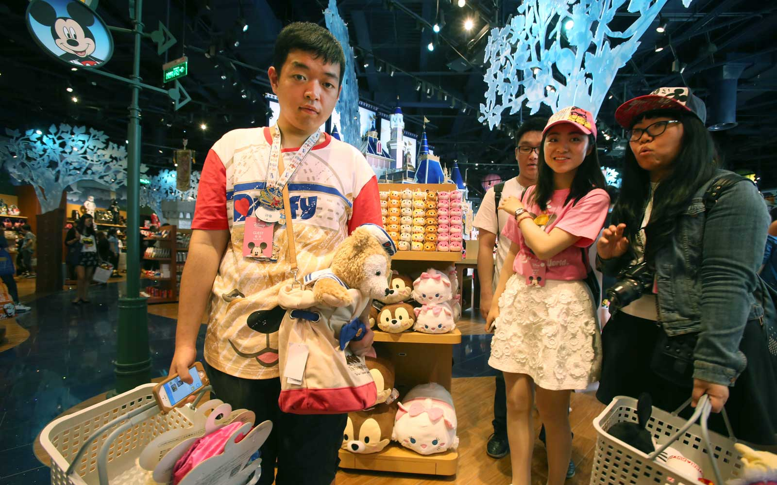 Disney Flagship Store Opens In Shanghai, China