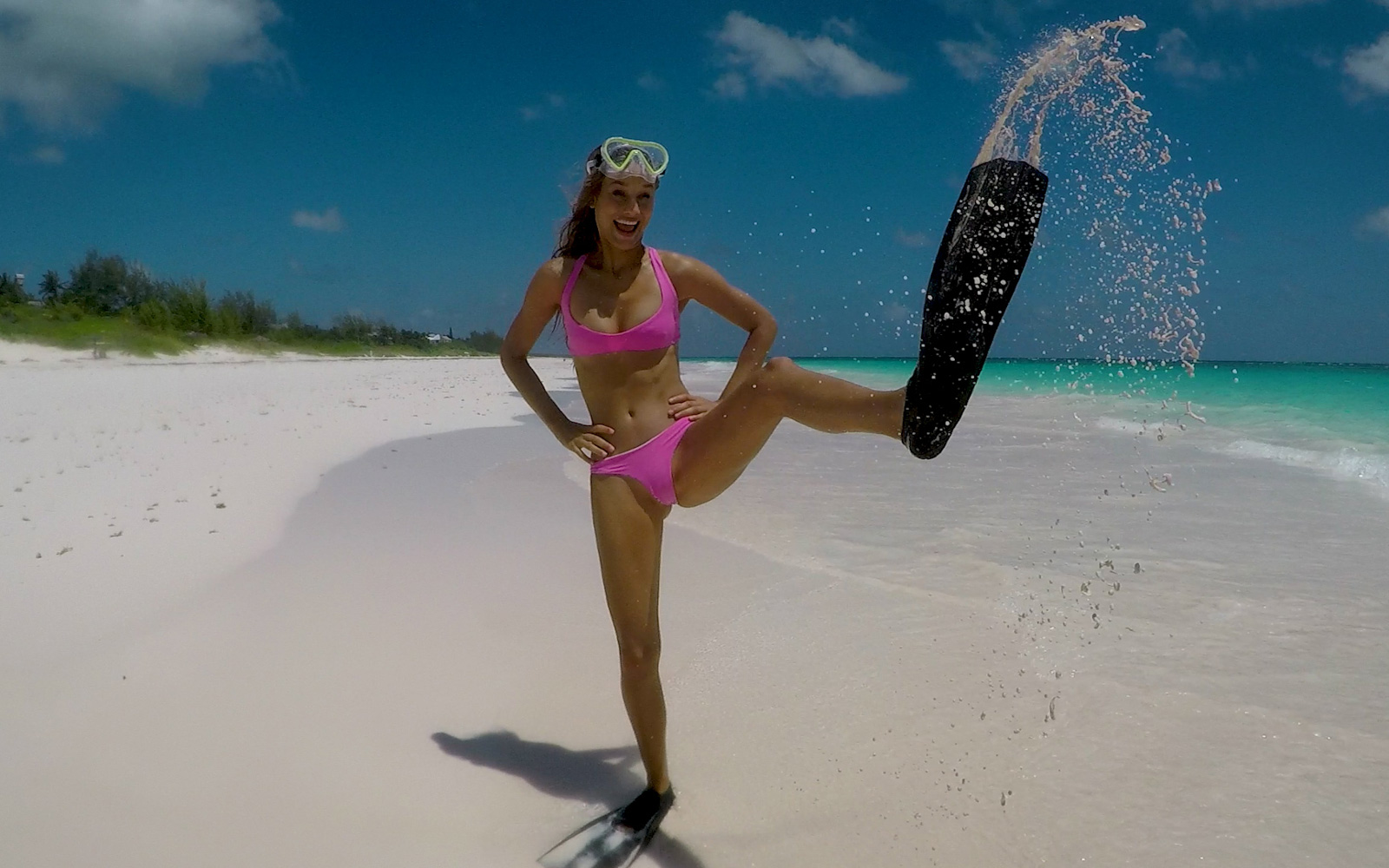 Insider Tips for Visiting the Bahamas, From SI Swimsuit Model Chase Carter