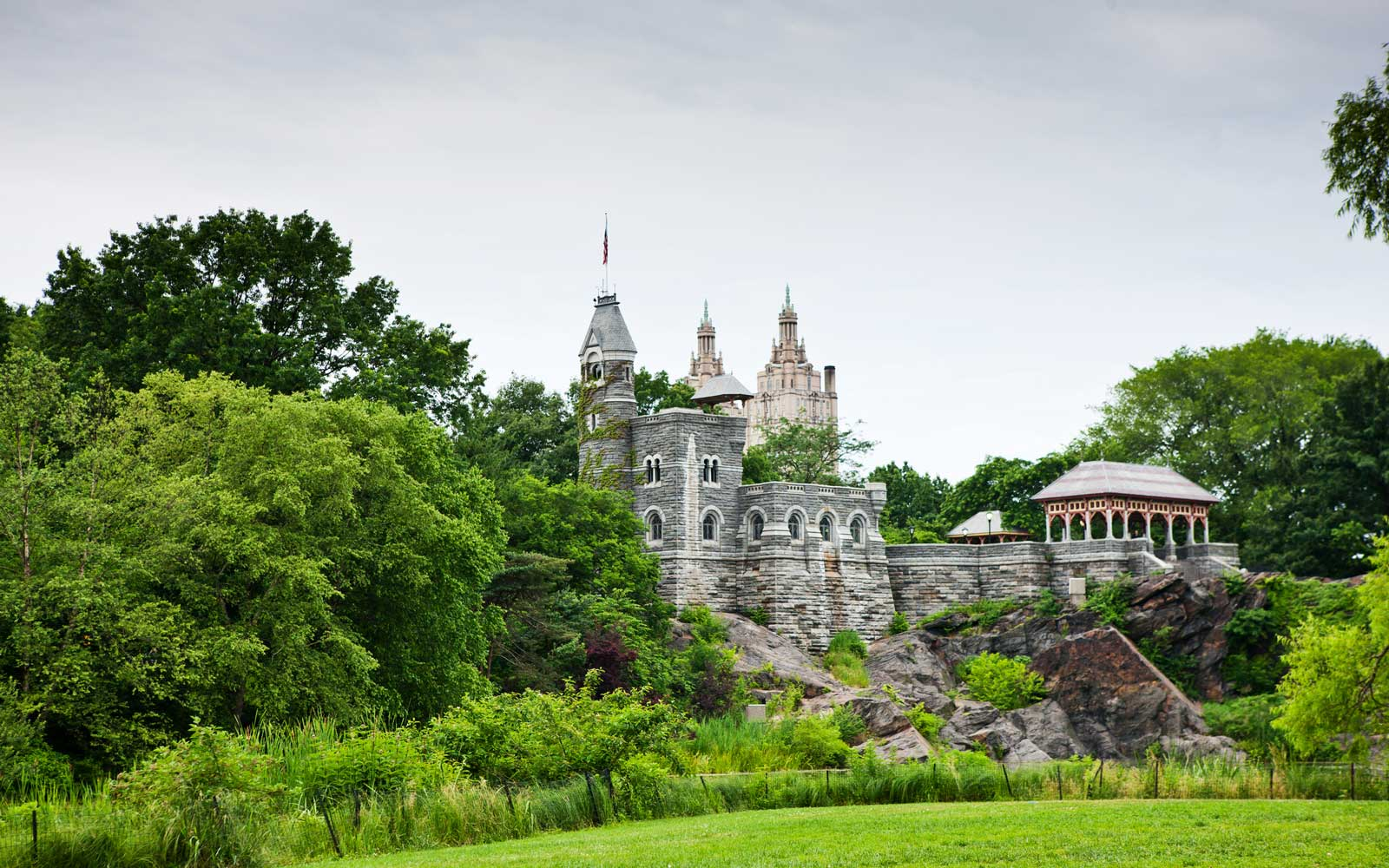 Belvedere Castle, Central Park, New York, USA