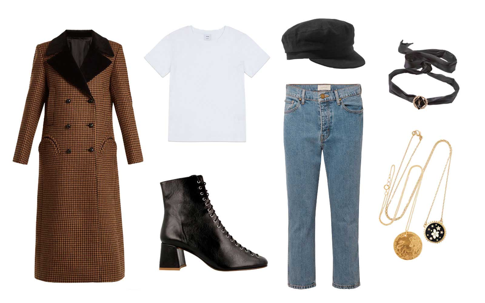 Lookbook for a day of cultural exploration in Paris