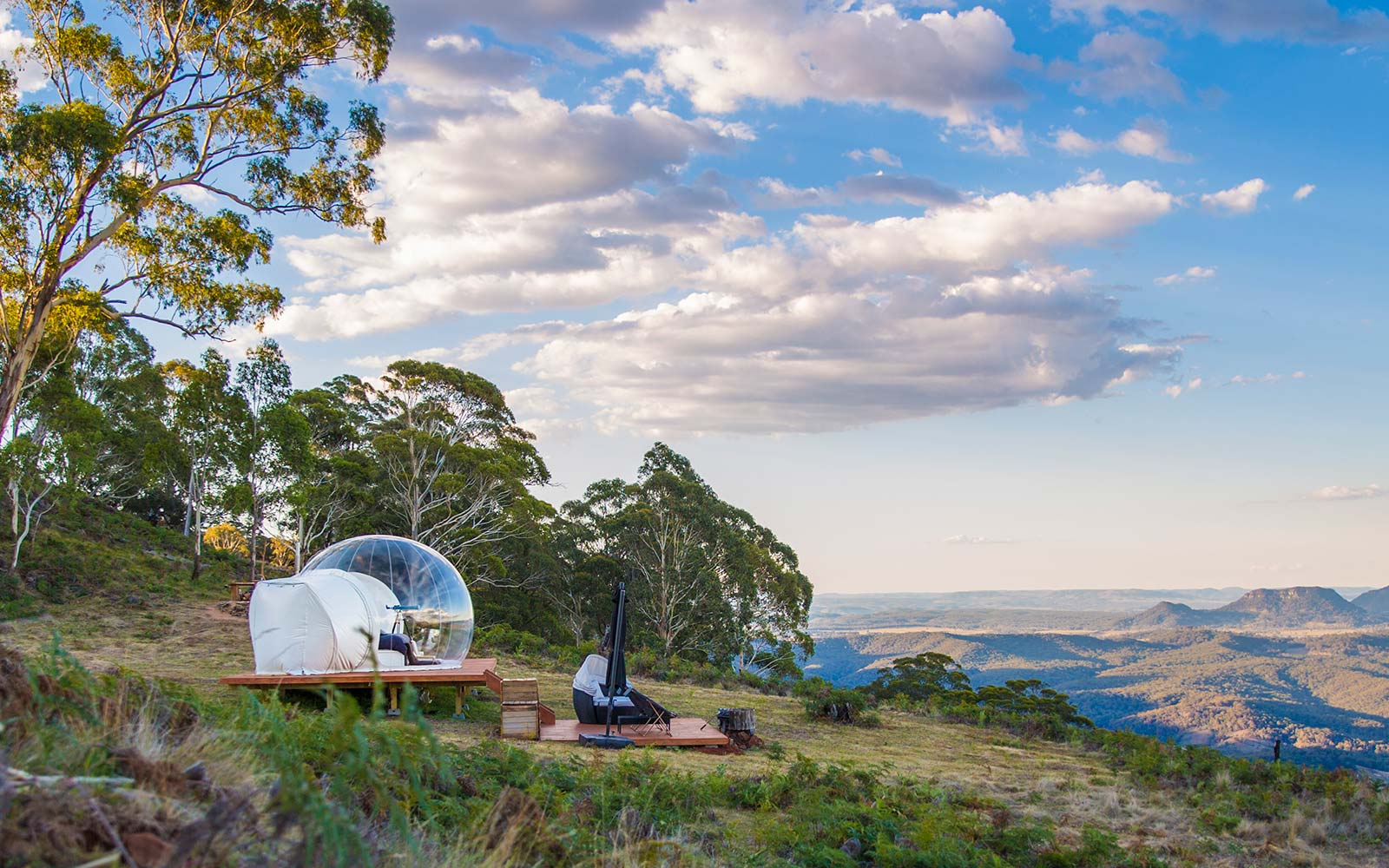 Bubbletents Australia Lodging View