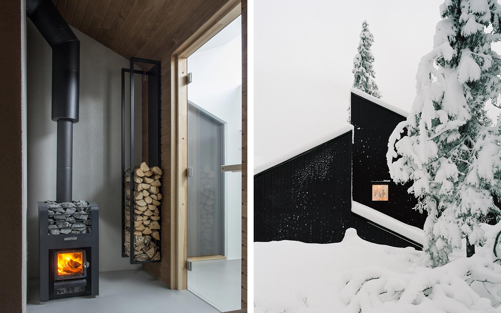 Cabin Vindheim Norway Snow Retreat Design