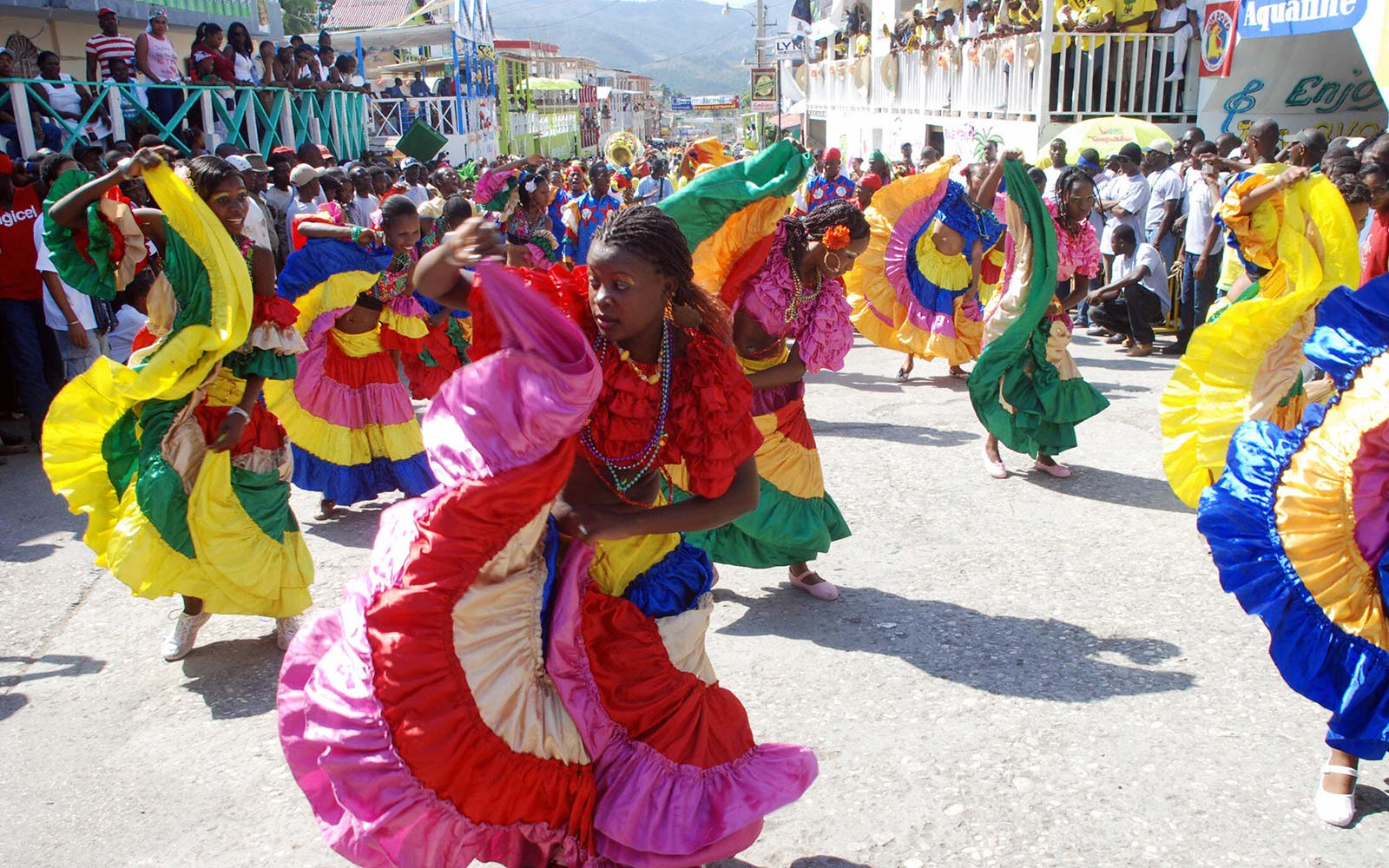 Jacmel Haiti Carnival Celebrations