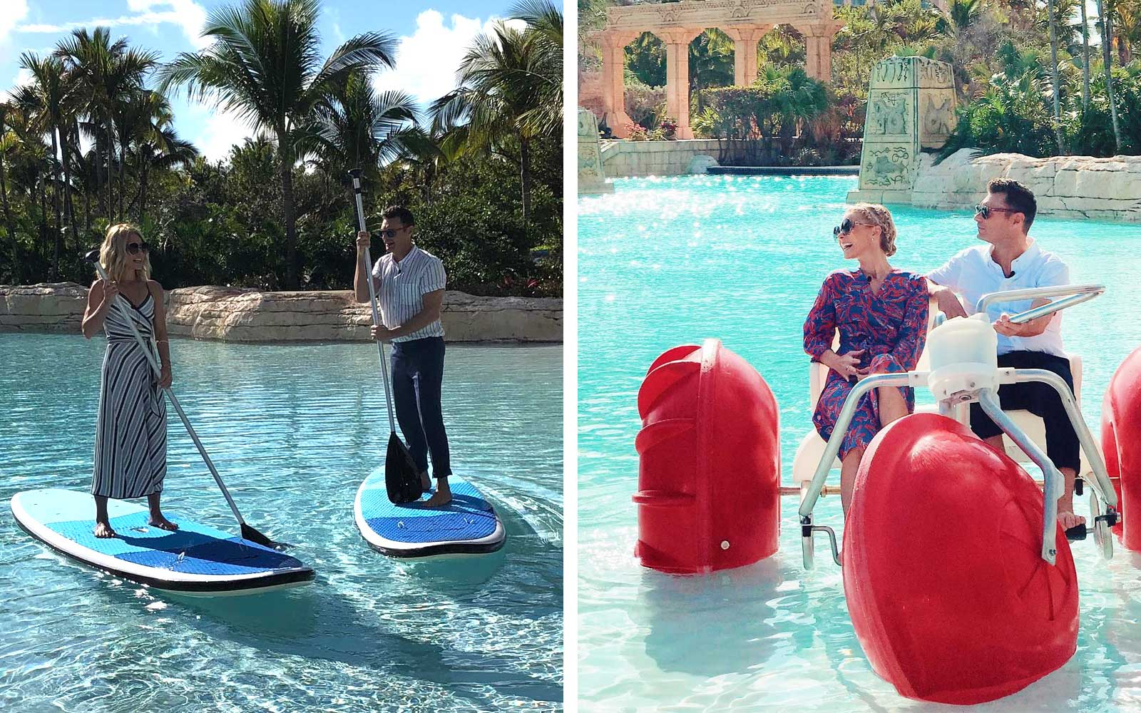 Kelly Ripa and Ryan Seacrest Are in the Bahamas and Sharing Every Detail
