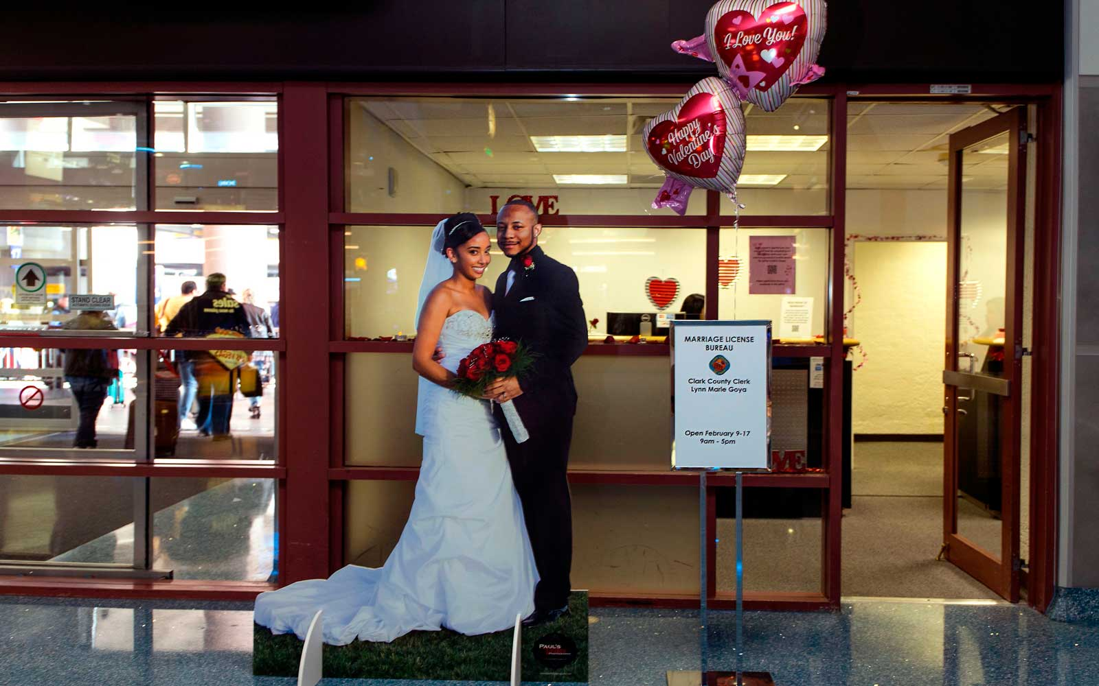 You Can Now Get a Marriage License the Moment You Land in Las Vegas