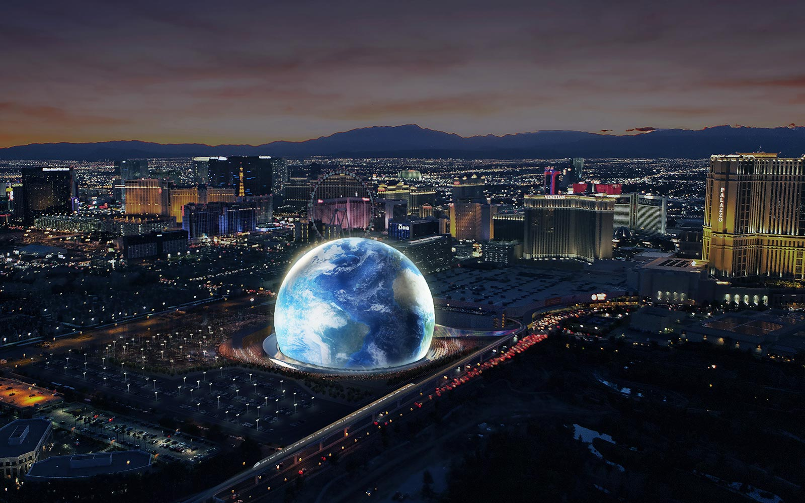 A Giant Space Orb Concert Venue Is Coming to Las Vegas in 2020