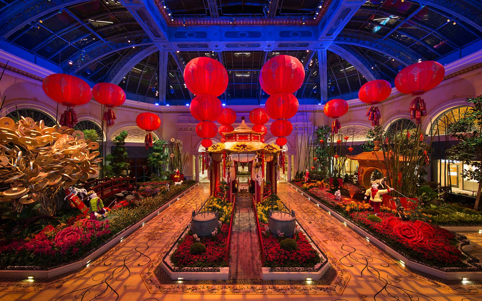 Lunar Chinese New Year Bellagio Hotel MGM Las Vegas Celebration