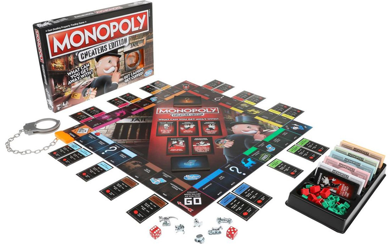 The Newest Monopoly Game Rewards Stealing Money and Not Paying Rent