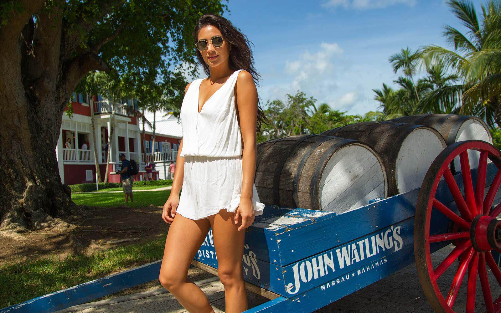 Shay Mitchell Adventurist Travel Nassau Bahamas