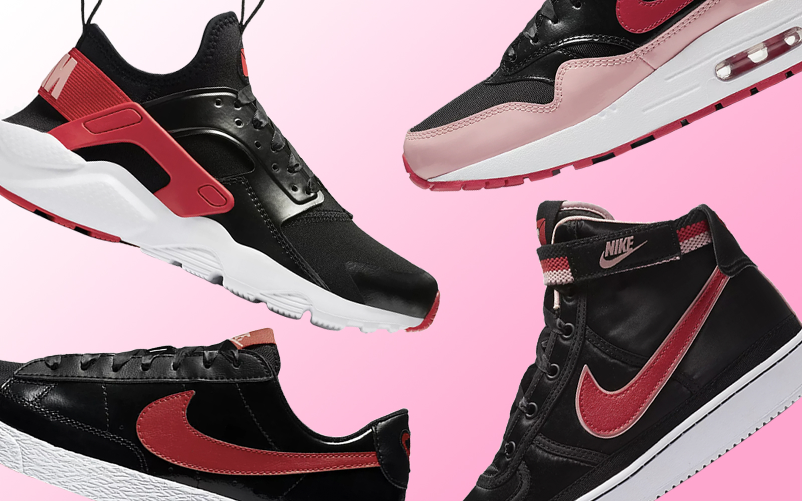 Nike Is Here With a Valentine's Day-themed Sneaker Collection for Kids