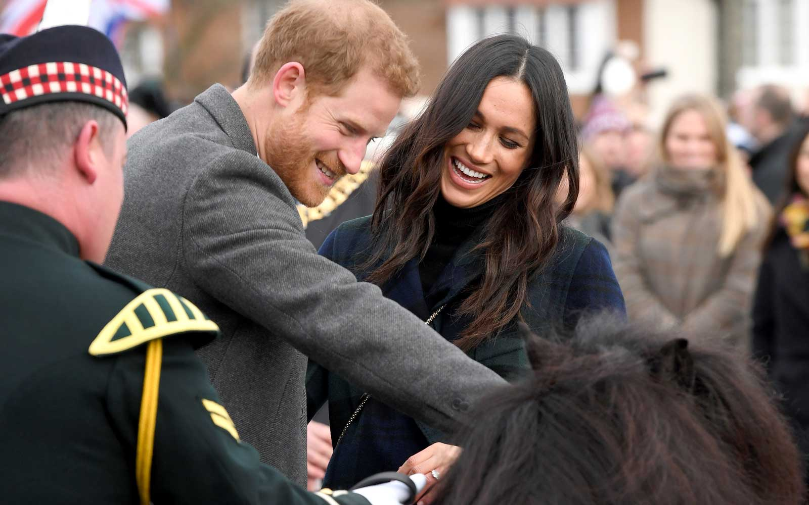 A Mischievous Pony Tried to Bite Prince Harry in Scotland