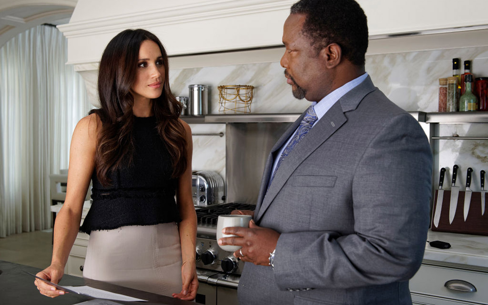 Meghan Markle Had a Secret Code Name for Prince Harry on the 'Suits' Set