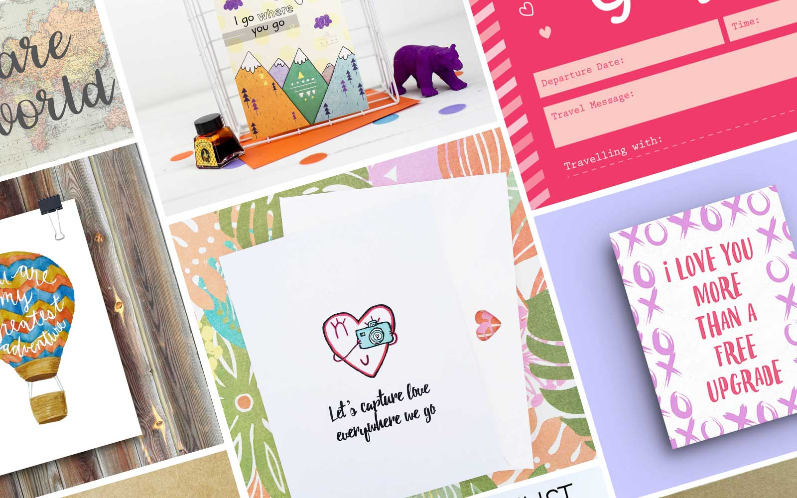 12 Cute Valentine's Day Cards for Your Favorite Travel Buddy