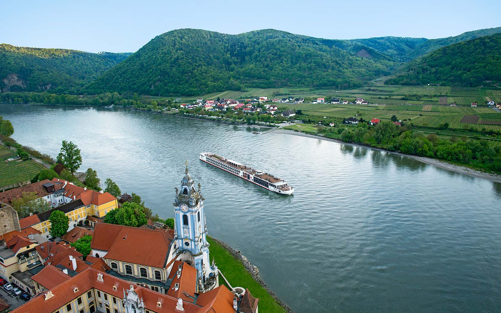 The Viking Hild Is One of the Sleekest River Cruise Ships in Europe