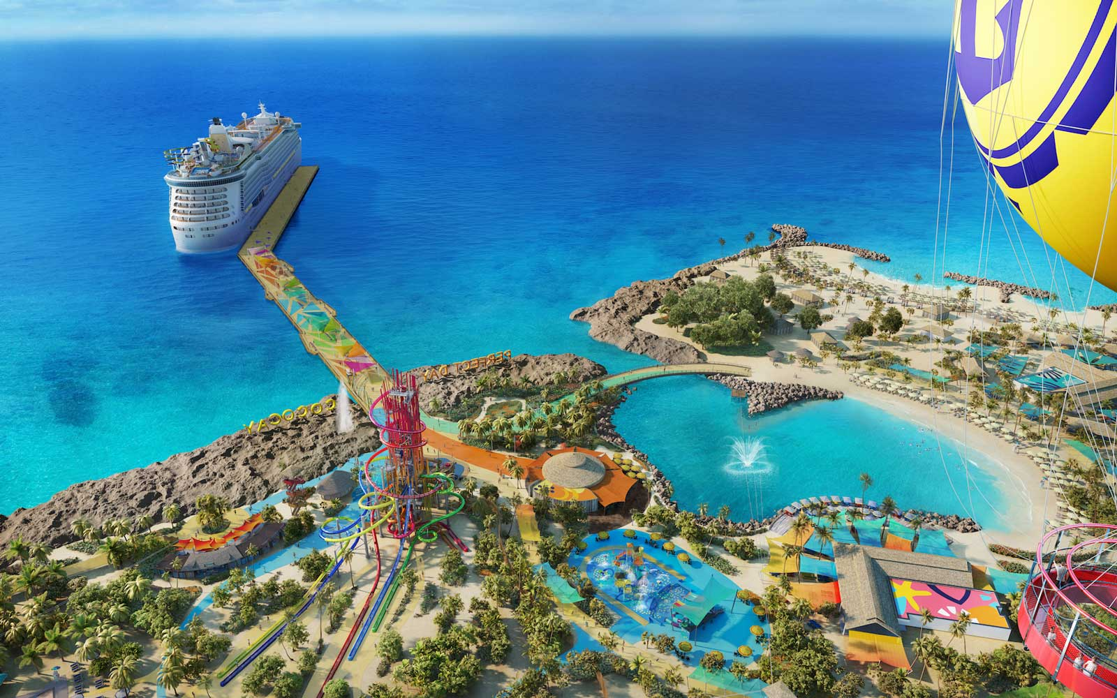 Royal Caribbean S New Private Island Cruise Will Have