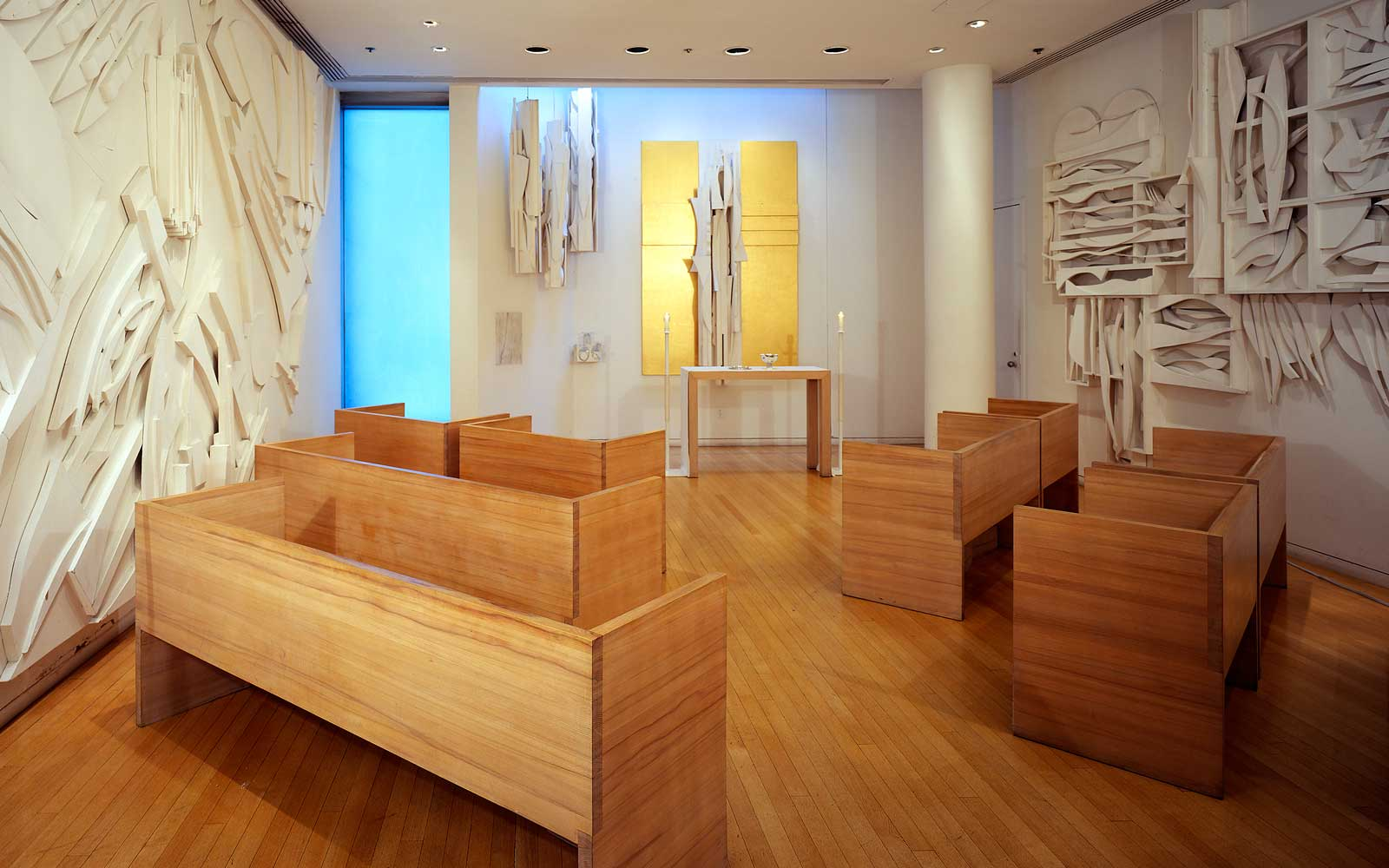 Louise Nevelson, The Chapel Of The Good Shepherd at Saint Peter's Church, 1975, New York