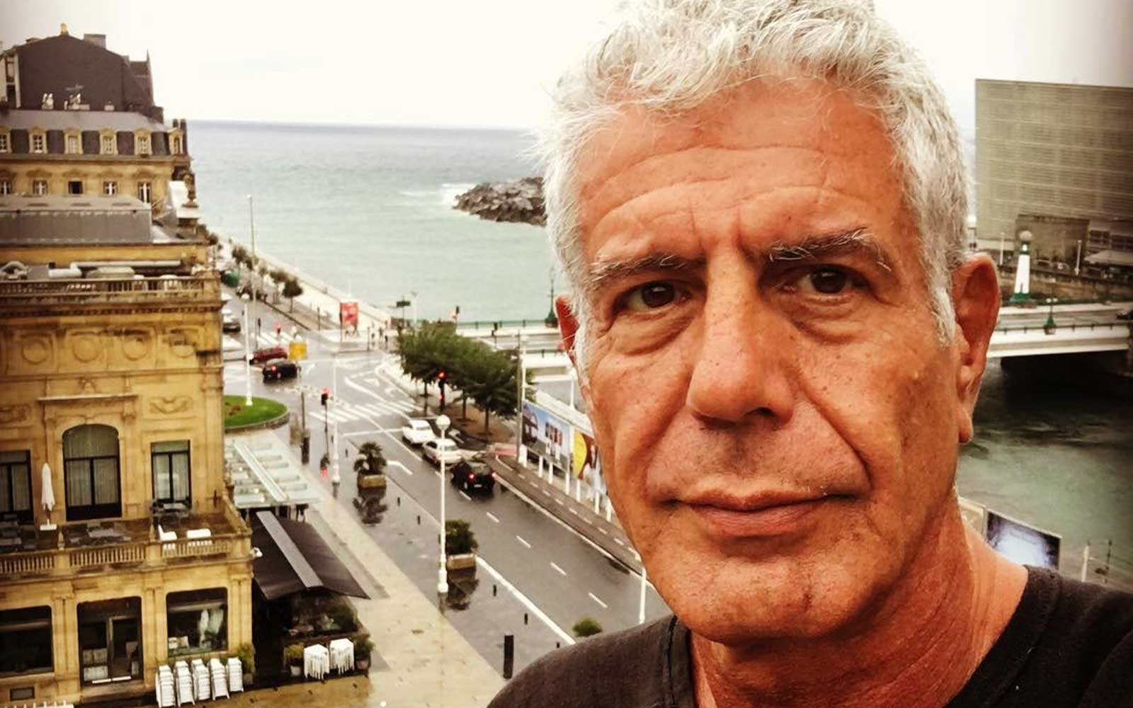 Anthony Bourdain Admits He's Trying to Make You Jealous on Instagram