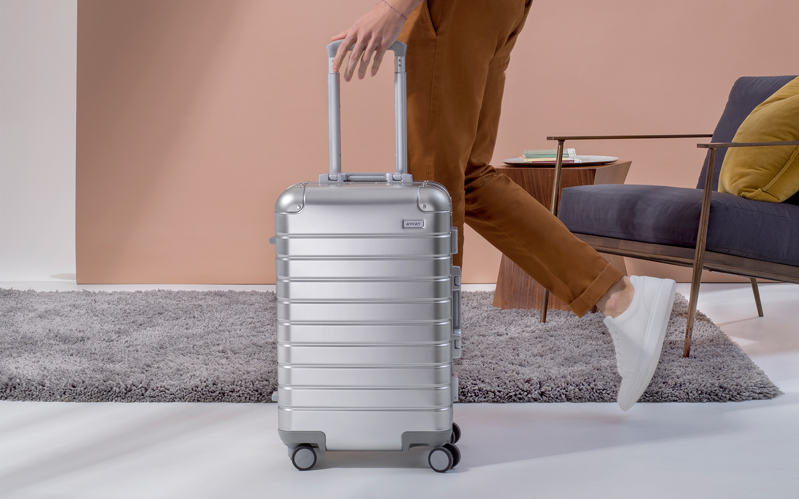 Away Just Launched Its Unbreakable Suitcases in Stunning Aluminum