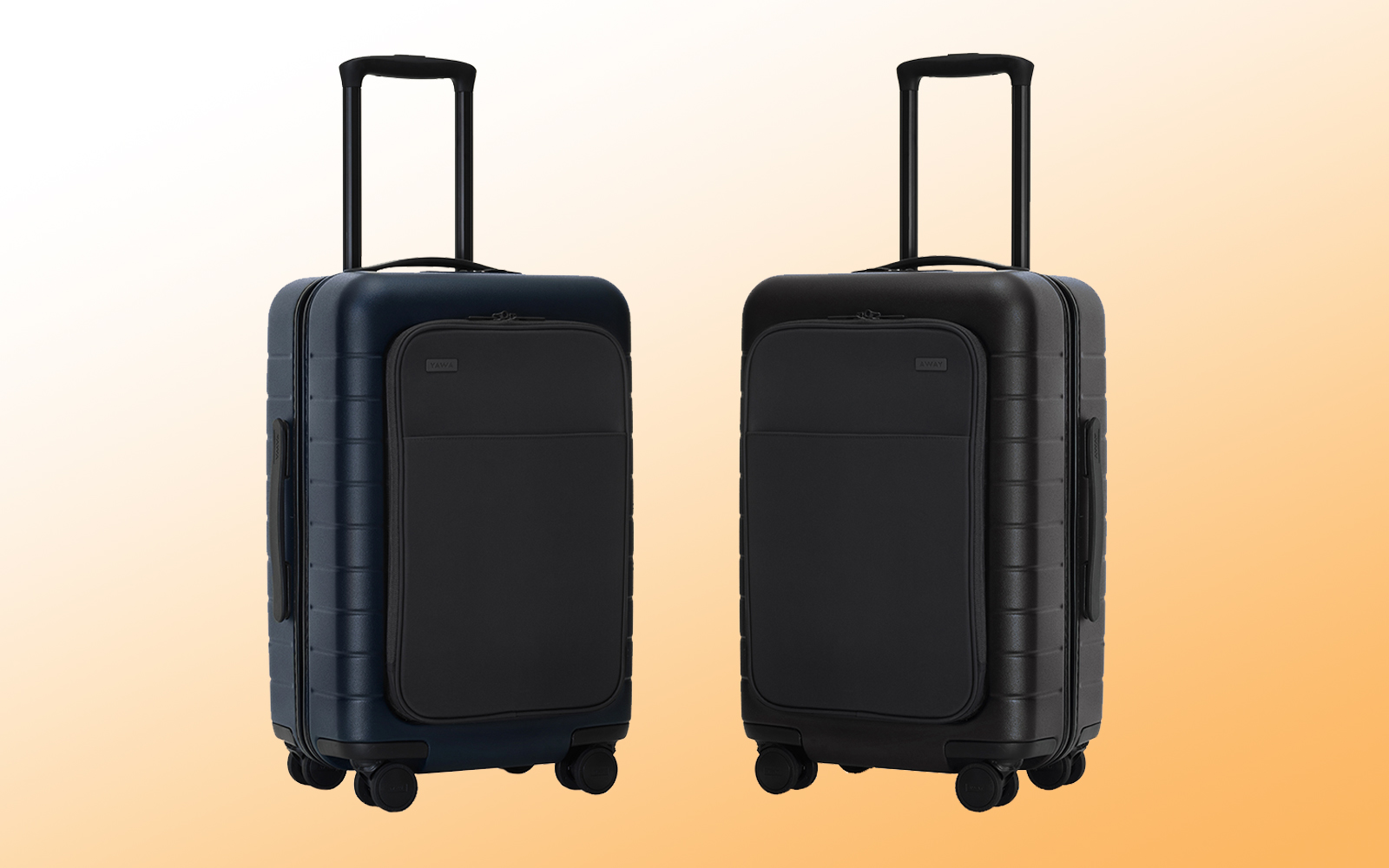 Away Just Added a Front Pocket to Its Best-selling Hardside Suitcase and We're Out of Reasons Not to Buy One