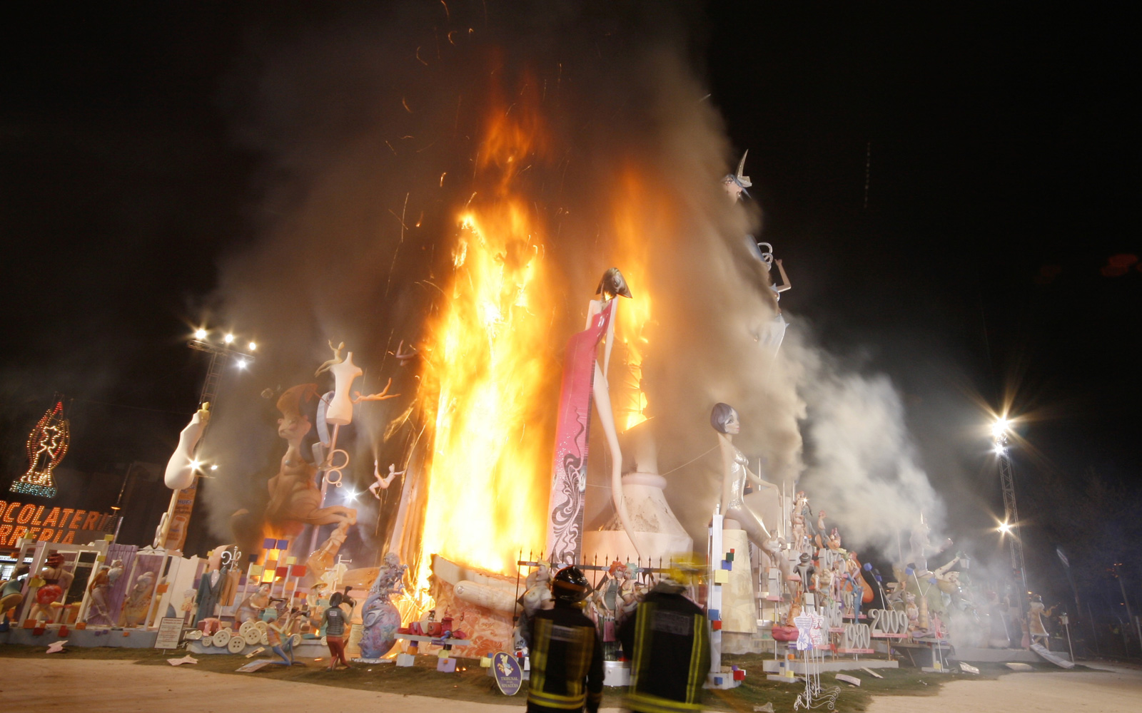 Las Fallas Festival in Spain