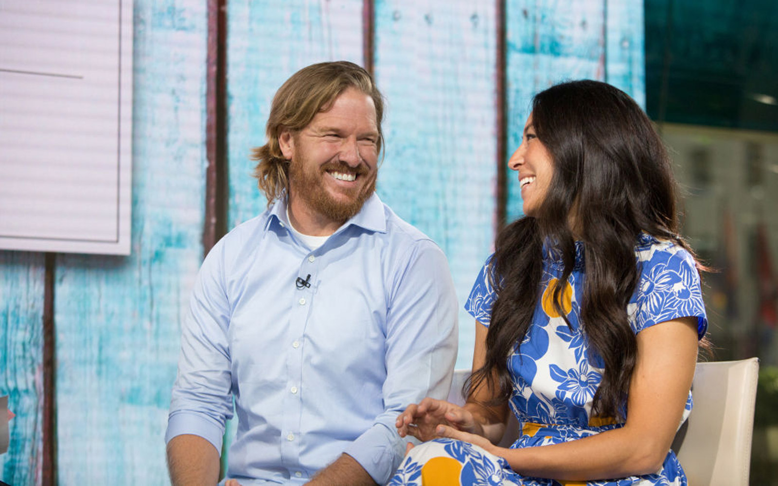 TODAY -- Pictured: Chip and Joanna Gaines on Tuesday, July 18, 2017