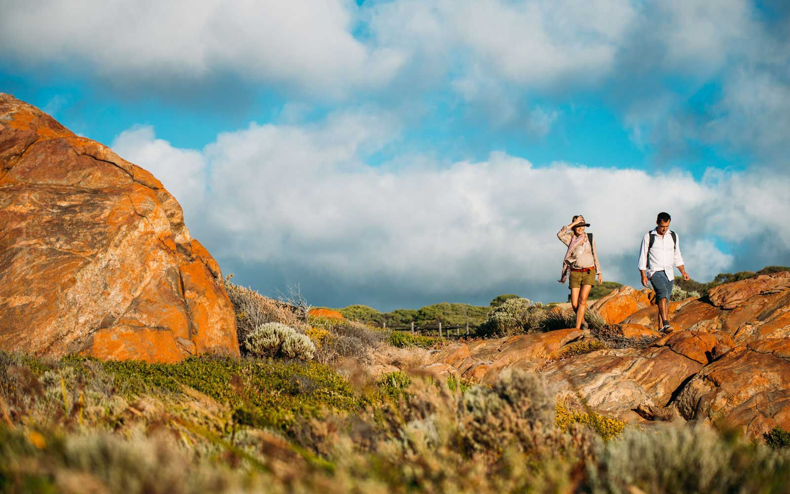 Hiking in Margaret River Australia