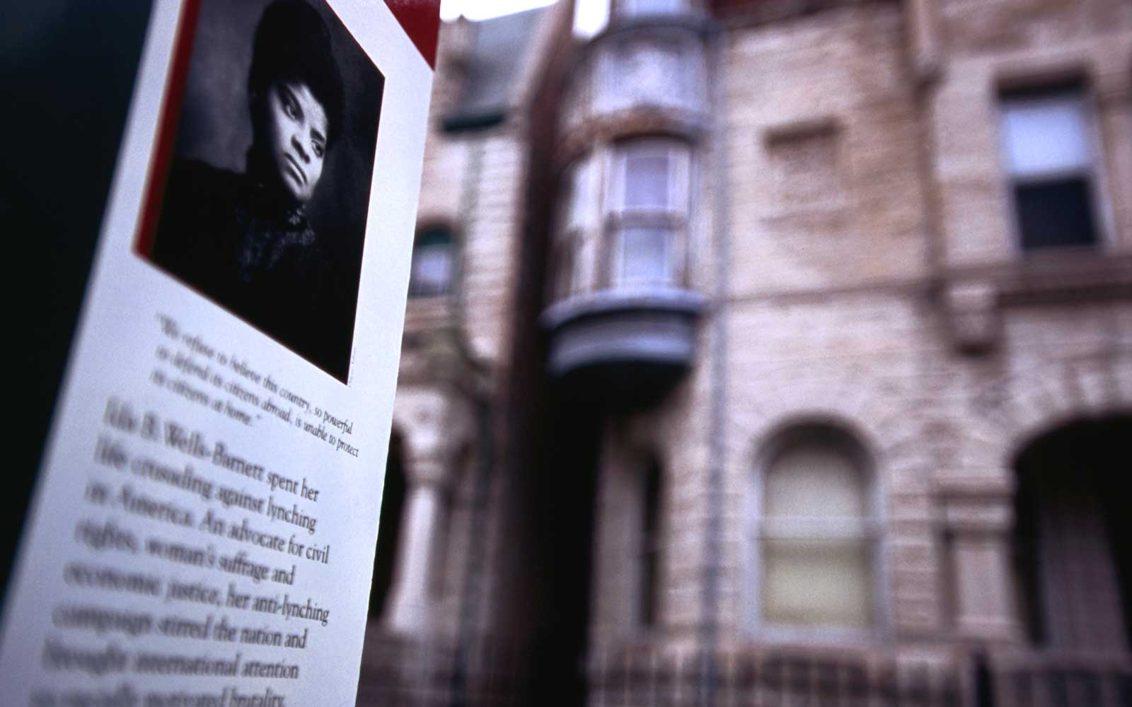 Ida B. Wells-Barnett home in Chicago