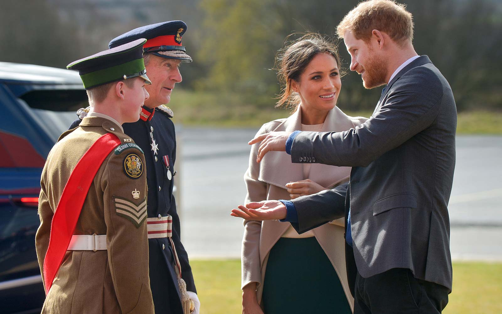 Here's What Prince Harry and Meghan Markle Did on Their Surprise Trip to Northern Ireland
