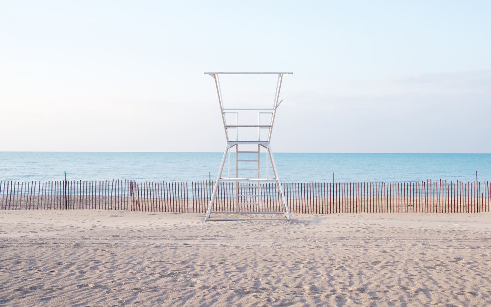 Lifeguard stand at Lake