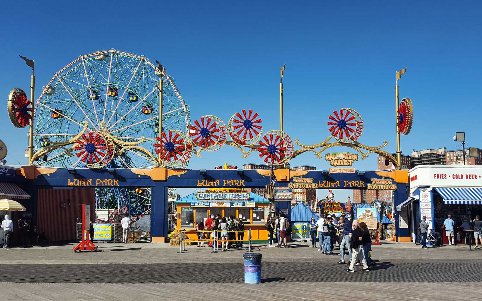 The Coney Island Boardwalk Could Soon Be Designated a Landmark
