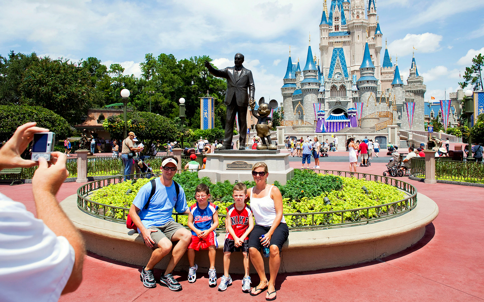 Disney Just Ruined the Most Popular Instagram Backdrop at Magic Kingdom